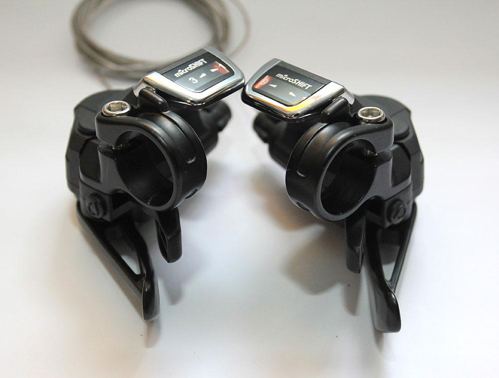 trocadores microshift 9v