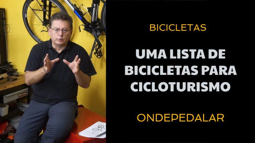 Dicas de bikes para fazer cicloturismo