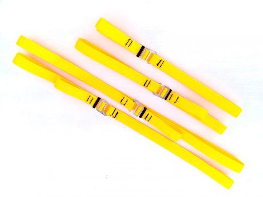 Fitas para carga hook aço inox – Kit 4un
